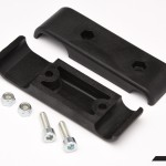 FRONT BUMPER FLANGE CLAMP BLACK