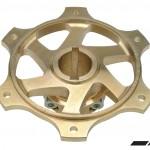 COMPKART MG. 30 MM DOUBLE FIX SPROCKET HUB + 3 KEY SLOTS