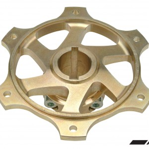 COMPKART MG. 30 MM DOUBLE FIX SPROCKET HUB + 3 KEY SLOTS