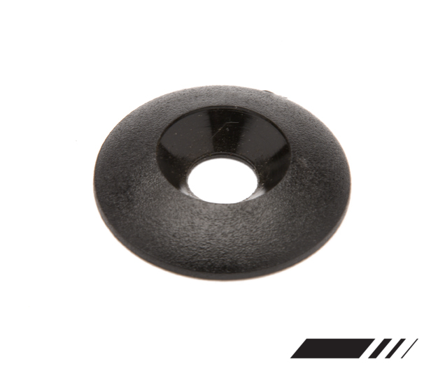 SEAT WASHER CONICAL BLACK 8MM