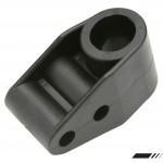 STEERING COLUMN SUPPORT BLACK PLASTIC TWO POSITION