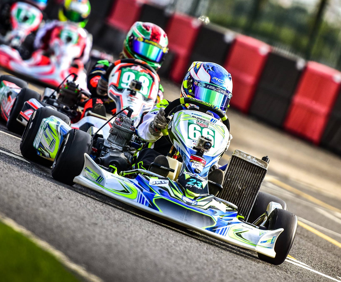 Reggie Duhy & COMPKART Stunning Again in UK - J3 Competition
