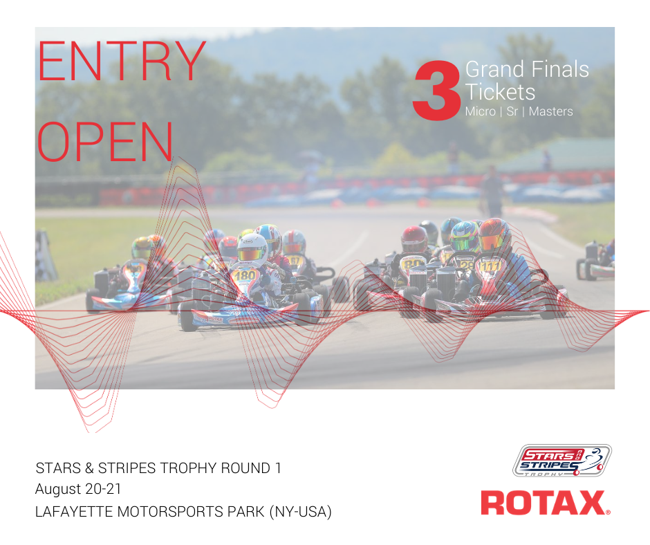 Rotax RMC Stars & Stripes Trophy Series Entry Open