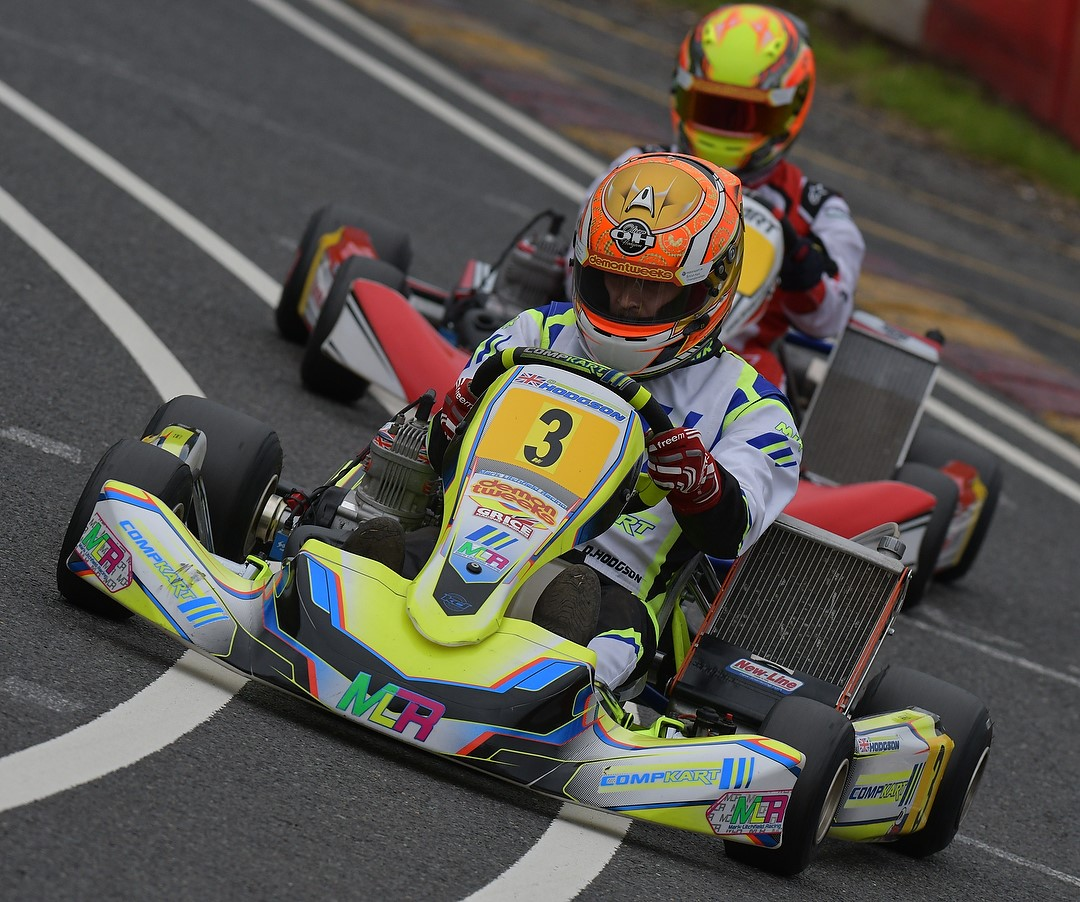 COMPKART At The Pointy End – British Championships